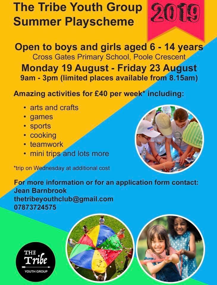 Summer scheme poster